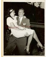 Mike MAZURKI Jeannette BRIGGS ORG Candid  PHOTO H425 - $14.99