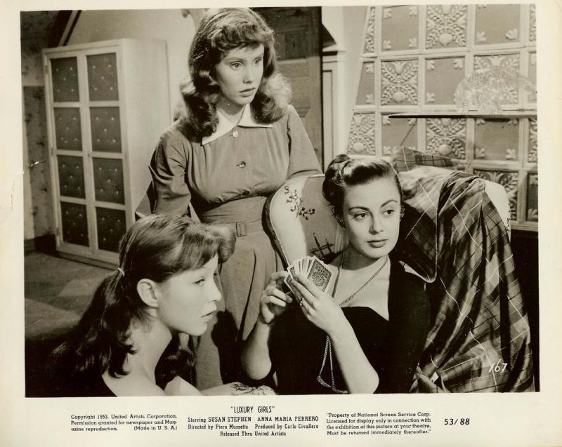Vintage Anna-Maria Ferrero Susan Stephen MOVIE PHOTO