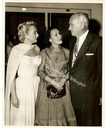 Vintage Conrad HILTON Dolores Del RIO c1955 Press Photo - $14.99