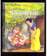 Snow White and the Seven Dwarfs (1984) Disney Golden Books - $1.88