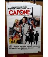 "Original Capone 1975 movie poster Ben Gazzara  27"" x 41"" - $29.14"