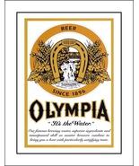 Vintage Olympia Beer Logo Poster, Bar Wall Art  - $19.99+