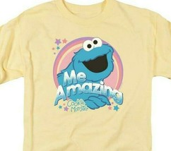 Sesame Street Cookie Monster PBS Retro 60s 70s 80s graphic t-shirt SST196 image 2