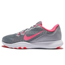 NIKE WOMEN'S FLEX TRAINER 7 SHOES grey pink stealth 898479 006 - $63.82