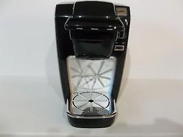 Keurig K10 Coffee Maker Black Plus Rack Carousel w/27 slots Tested - $24.99