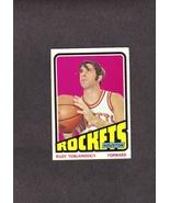 1972-73 Topps # 103 Rudy T Tomjanovich Houston Rockets - $1.99