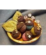 Acorn Medley mini pincushions kit (pk524) JABC Just Another Button Co - $60.30