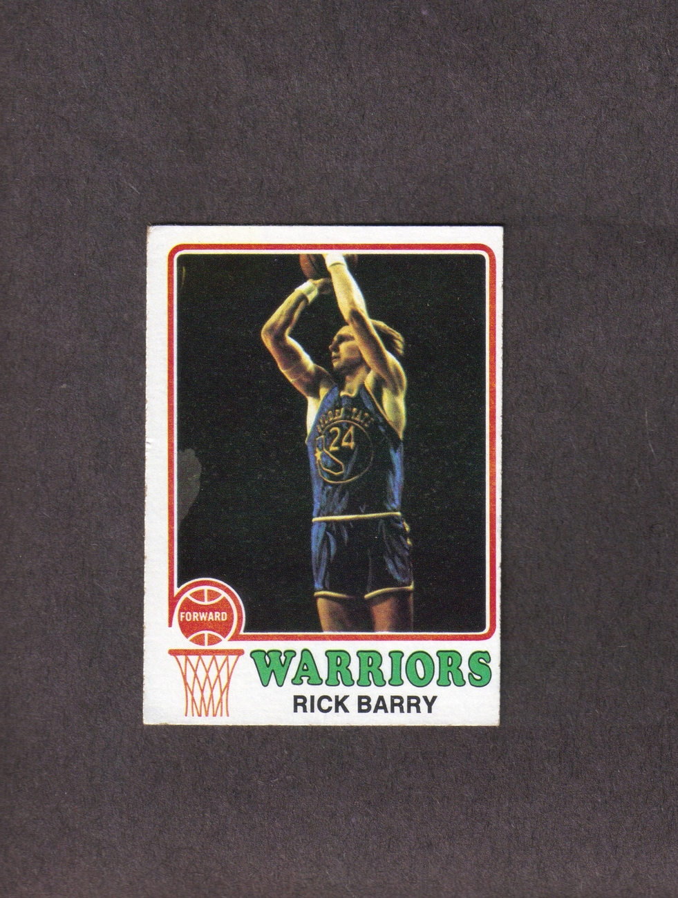 1973-74 Topps # 90 Rick Barry Golden State Warriors