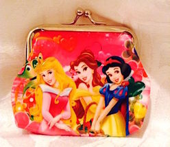 Disney Princess Characters Coin Purse Coin Purse— More Fun Characters Available
