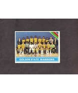 1975-76 Topps # 209 Golden States Warriors Team Card - $1.00