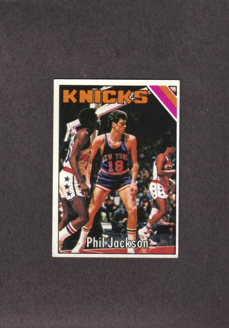 1975-76 Topps # 111 Phil Jackson New York Knicks