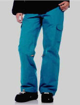 Roxy Toboggan Pants Womens Snowboard Ski Waterproof Shell Teal L - $112.34