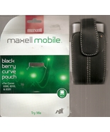 maxell mobile blackberry curve pouch - $4.99