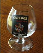 Catador Brandy Viejo Palomino Jerez Snifter 2 Shot Glass - $9.99