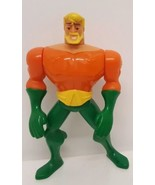 "AQUAMAN 4"" Action Figure McDonalds Collectible 2010 DC Comics Orange Gre... - $7.91"