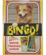 Bingo Movie Trading Cards Box Pacific 1991 Complete 36 Unopened Packs - $4.99