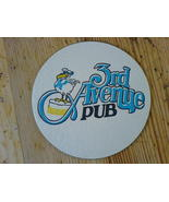 Coaster Richmond 3rd Ave Pub Pelican Beer One Mat Vintage 80s - $3.99