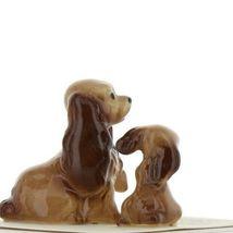 Hagen Renaker Miniature Dog Cocker Spaniel Mama and Pup Ceramic Figurine Set image 6