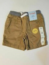Infant /Toddler Boys' Pull-On Shorts Sizes-12M ,2T- Cat & Jack Brown - $5.19