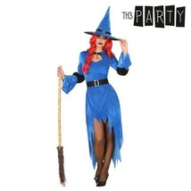 Witch Halloween Blue Costume for Adults  - $17.95