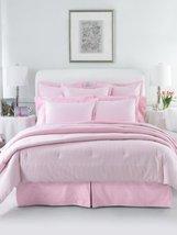 Ralph Lauren University Oxford King Comforter 100%COTTON Striped Pink 110X96 New - $294.75