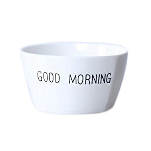 Kylin Express 2 Pieces Creative Ceramic Fruit Tableware Bowl for breakfastRice B - $28.71