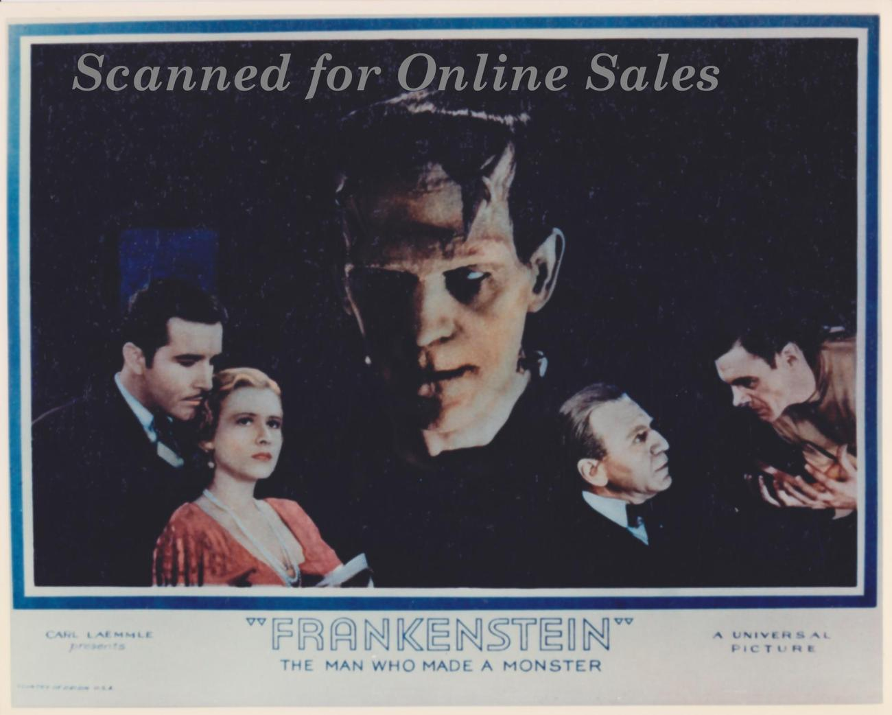 Frankenstein Monster Karloff Clarke Bowles Colin Clive Photo