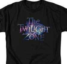 The Twilight Zone logo t-shirt retro 50s 60s fantasy tv graphic tee CBS1592 image 2