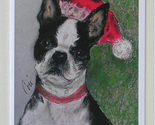 Boston terrier holiday cards thumb155 crop