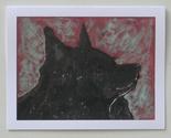 Schipperke dog art note cards by cori solomon thumb155 crop