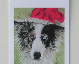 Holiday gift tags santa blues thumb155 crop