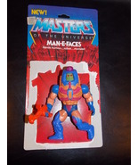 Vintage 1982 Masters Of The Universe Man-E-Face... - $15.99