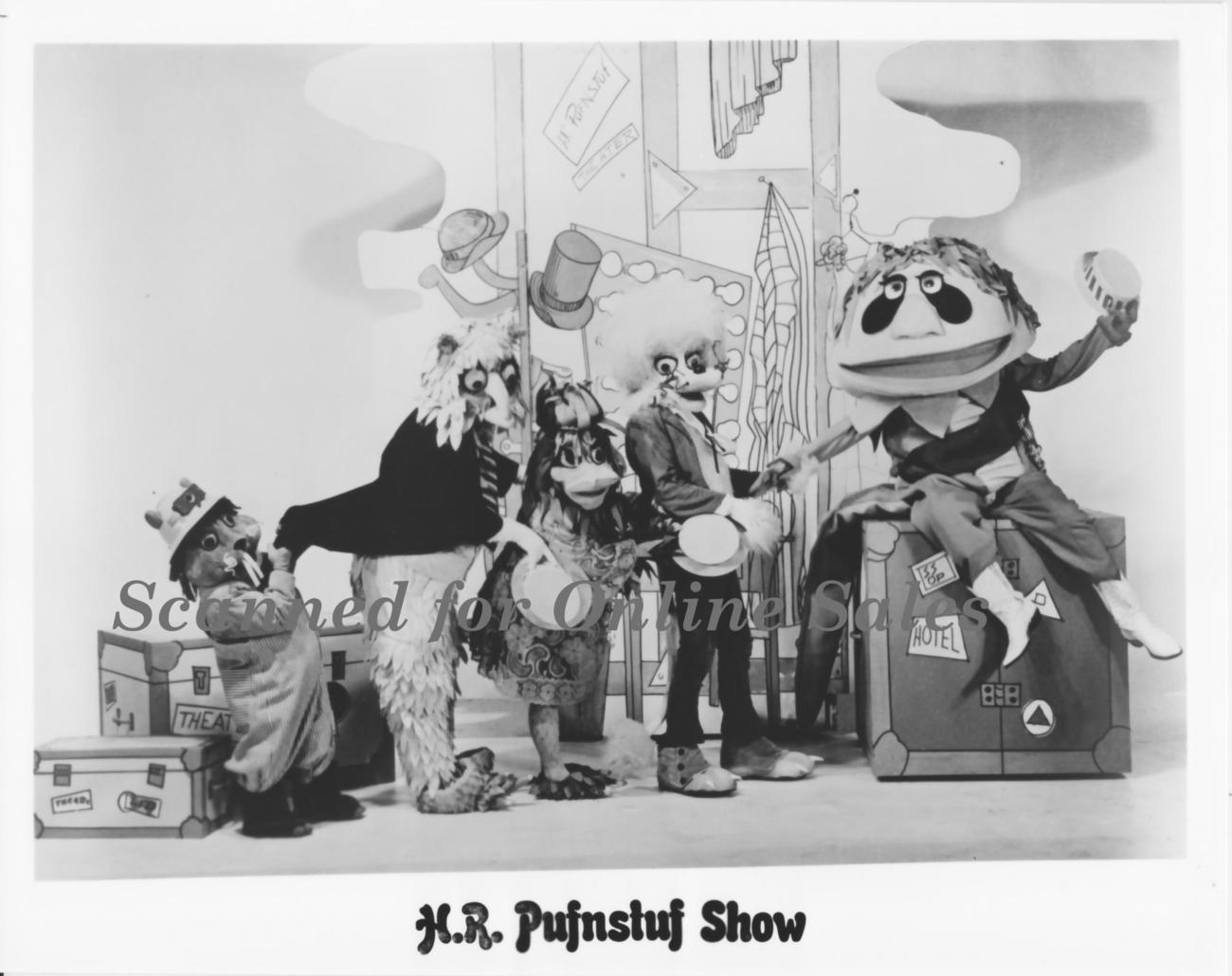 Marty and Sid Kroft HR Pufnstuff Welcome 8x10 Photo