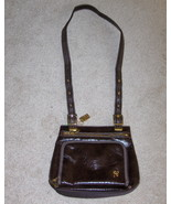 Lina Sling Purse Chocolate Brown Handbag - $19.00