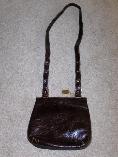 Lina Sling Purse Chocolate Brown Handbag