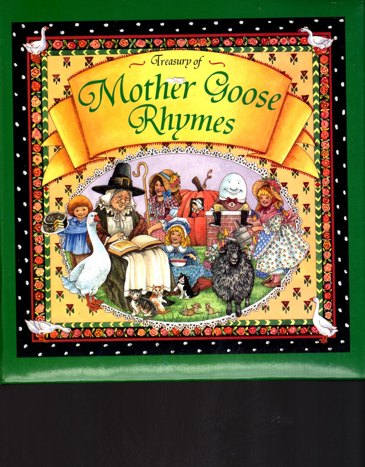 Treasury of Mother Goose Rhymes by PUBLICATIONS INT'L LTD ,HardCovered-Collectio