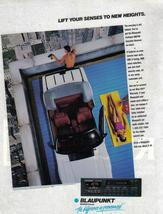 Blaupunkt Lift Your Senses To New Heights Full Page Color Print Ad Near ... - $7.69