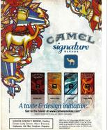 Camel Signature Blends Full Page Original Color Print Ad From 2002 Very ... - $3.50