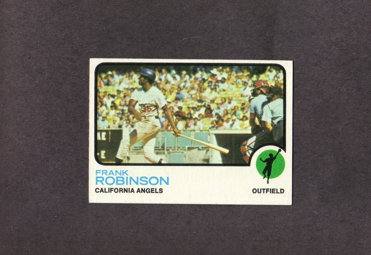 1973 Topps # 175 Frank Robinson California Angels