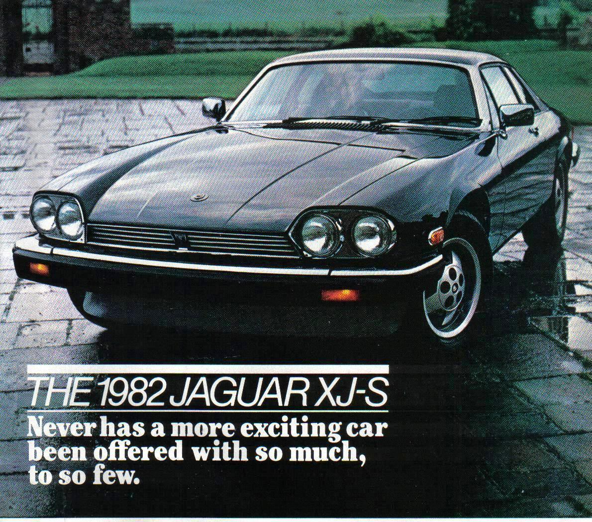 Primary image for 1982 Vintage Jaguar  Magazine Print Ad for  Automobiles - Original  - Very Good