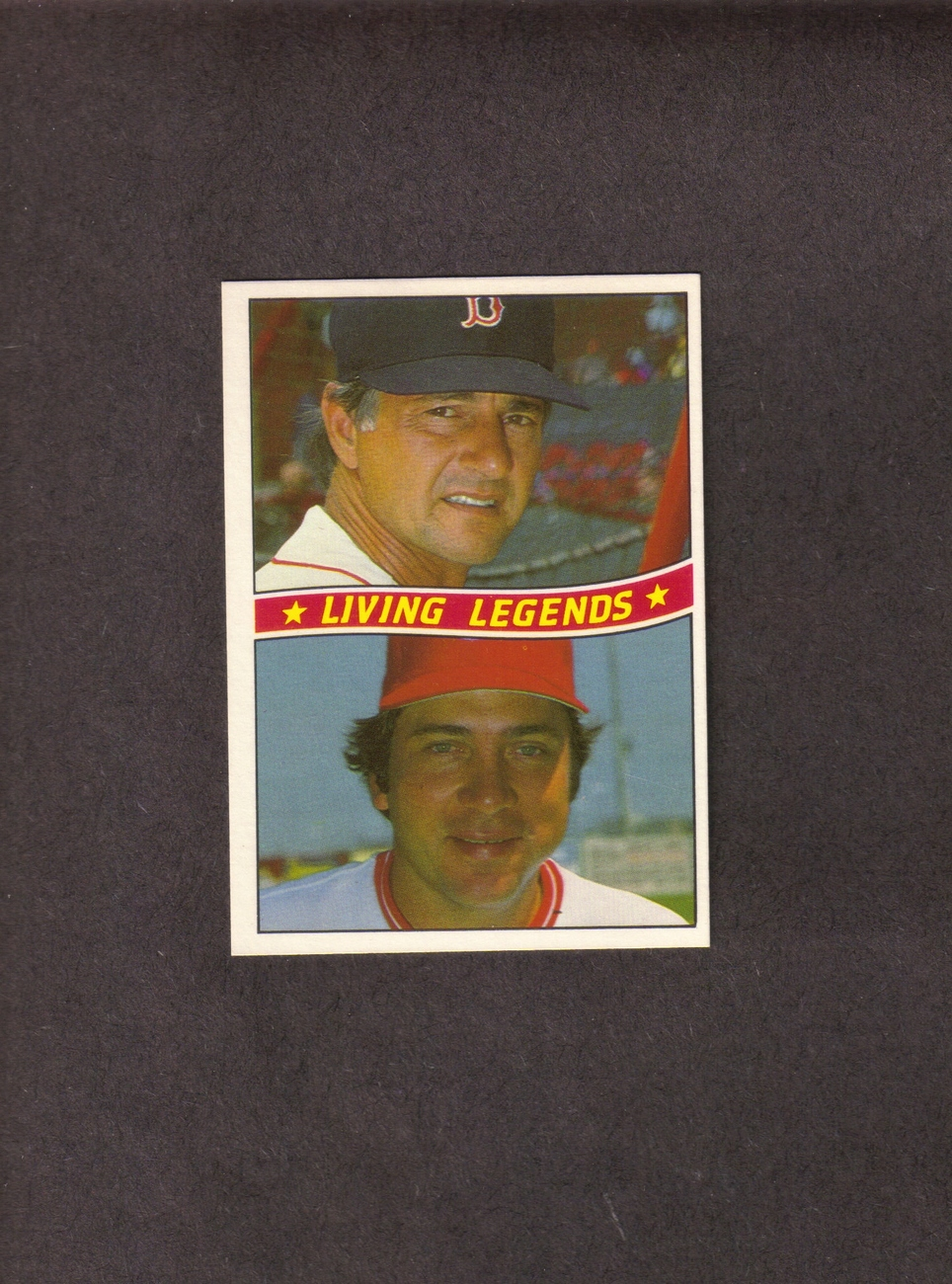 1984 Donruss # B Carl Yastrzemski Johnny Bench