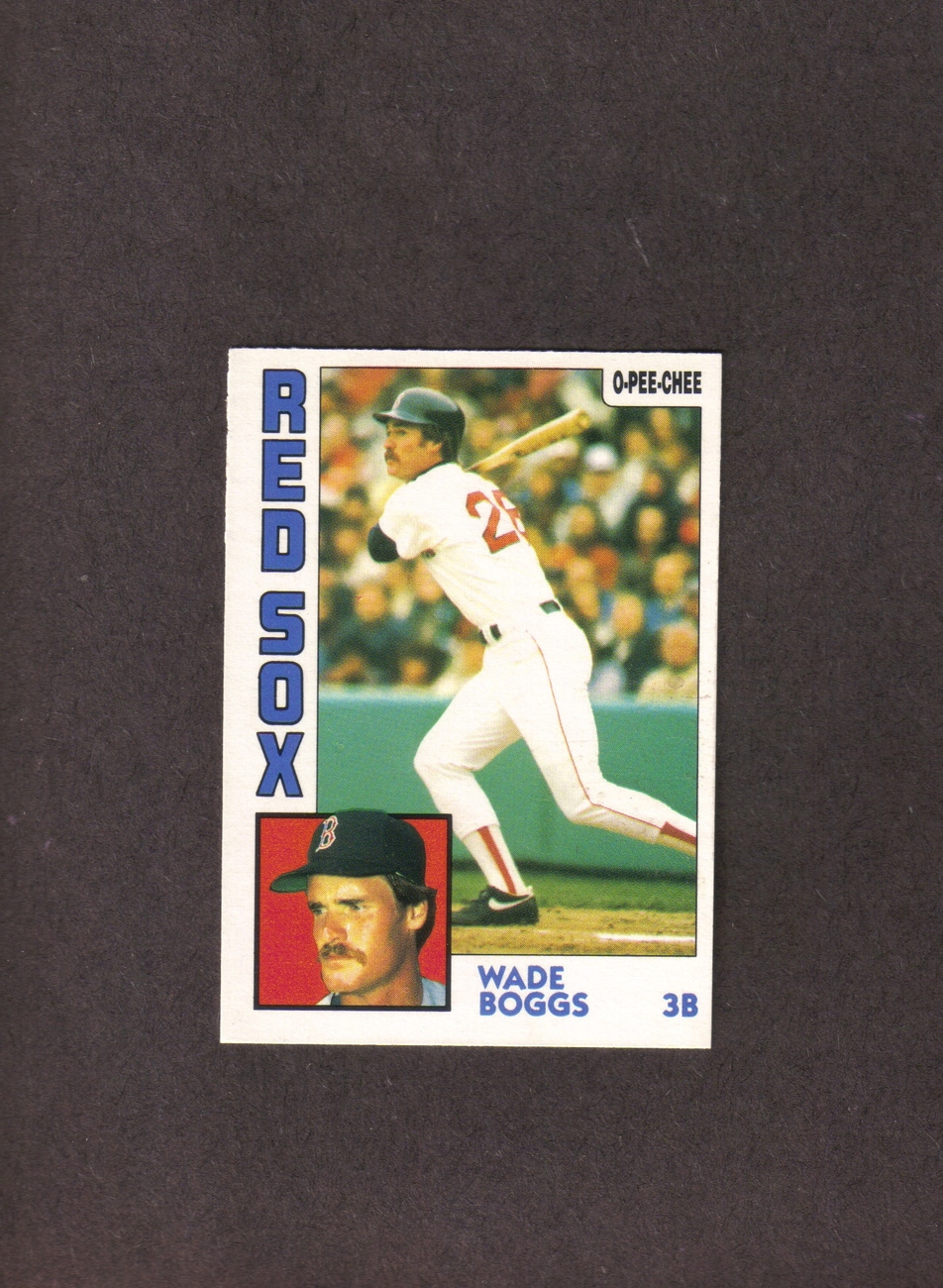 1984 OPC # 30 Wade Boggs Boston Red Sox