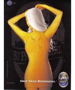 St. Paulie Girl Drop Dead Refreshing Full Page Original Print Ad  - Near... - $5.95