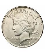 1934 Argento Pace Dollaro ( Fior di Conio, UNC Condizioni) Nice Occhio A... - $207.89