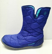 COLUMBIA OMNI-TECH Waterproof Women's Quilted Boots 200 Grams Size 6 Blue Violet - $79.19