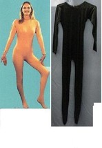 ADULT UNITARD BLACK LADIES XXLG FULL BODY SUIT - $65.00