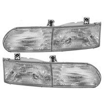 Georgie Boy Encounter 1994 1995 Headlights Head Lights Front Lamps Pair Rv - $176.22