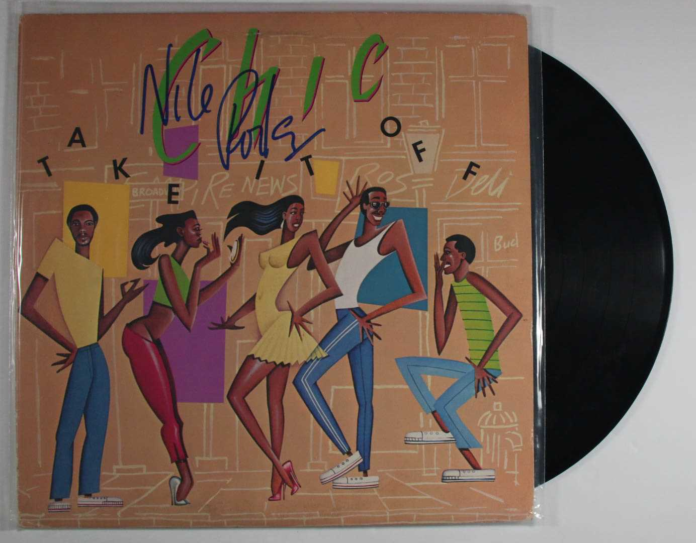 "Primary image for Nile Rodgers Signed Autographed ""Chic"" Record Album"