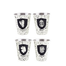 Shot Glass Set, Campfire Stainless Steel Funny Cute Shot Glass, Set Of 4 - €20,86 EUR