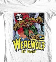 Werewolf by Night T Shirt vintage marvel horror comics Legion of Monsters tee image 2